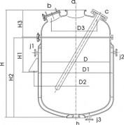 ZL型搪玻璃蒸馏罐